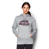 UCC Under Armour Women's Storm Armour Fleece Hoody - True Grey (UCC-203-TG)