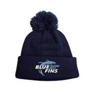 HHB New Era Pom Pom Toque - Navy - HHB-054-NY