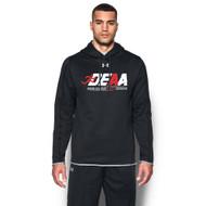 DEAA Under Armour Men's Double Threat Fleece Hoody - Black (DEA-114-BK)