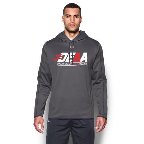 DEAA Under Armour Men's Double Threat Fleece Hoody - Carbon (DEA-114-CB)