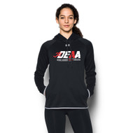 DEAA Under Armour Women's Double Threat Fleece Hoody - Black (DEA-214-BK)