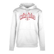 AJX Hype Men's Pull-On Hoodie - White (AJX-016-WH)