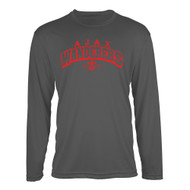 AJX ATC Men's Pro Team Long Sleeve Tee - Coal Grey (AJX-018-CG)