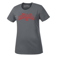 AJX ATC Pro Team Ladies Short Sleeve Tee - Grey (AJX-033-CG)