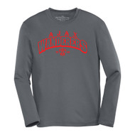 AJX ATC Pro Team Long Sleeve Youth Tee - Coal Grey (AJX-050-CG)