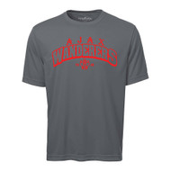 AJX ATC Pro Team Men's Short Sleeve Tee - Coal Grey (AJX-017-CG)