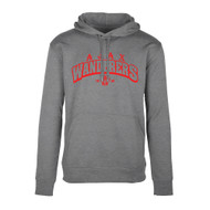 AJX Hype Men's Pull-On Hoodie - Grey Marle (AJX-016-GM)