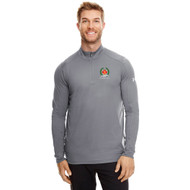 AJX Under Armour Tech Quarter-Zip 70th anniversary logo - Graphite (AJX-010-GT)