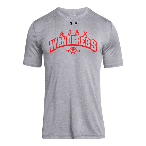 AJX Under Armour Men's Short Sleeve Locker 2.0 Tee - True Grey (AJX-004-TG)