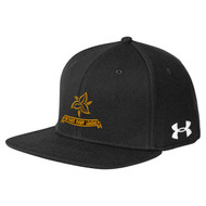 ORL Under Armour Flat Bill Cap - Black (ORL-052-BK)