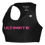 UCC Champion Women's Essential Racerback Bra - Black (UCC-218-BK.CG-1013TL)