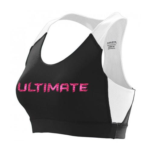 UCC Women's All Sports Bra - Black/White (UCC-220-BK.AG-2417)