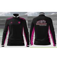 UCC Adidas Women's MI Team19 Track Jacket - Black/Pink/White (UCC-222-BK.AD-DW6764)