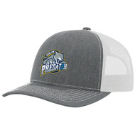 GPR Trucker Snapback - Heather Grey/White (GPR-055-HG.TE-RC112-HGWH-OS)