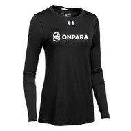 OPN Under Armour Women's Long Sleeve Locker Tee - Black (OPN-205-BK)