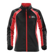 OPN Stormtech Women's Warrior Training Jacket - Black/Bright Red/White (OPN-208-BK)