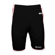 OPN AK Men's Basketball Shorts - Black/Red/White (OPN-109-BK)