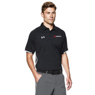 OPN Under Armour Men's Rival Polo - Black (OPN-110-BK)