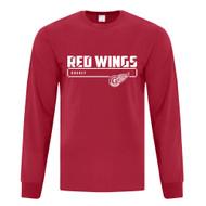 GRW ATC Men's Performance Long Sleeve Tee - Red (GRW-108-RE)