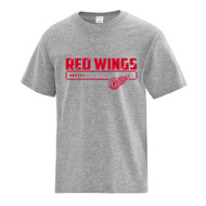 GRW ATC Youth Cotton Short Sleeve Tee - Athietic Heather (GRW-307-AH)