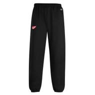 GRW Champion Adult Powerblend Fleece Pants - Black (GRW-010-BK)