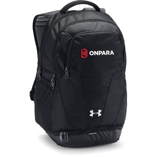 OPN Under Armour Hustle Backpack 3.0 - Black (OPN-054-BK.UA-1306060-001-OS)