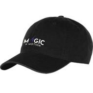 MNM Champion Cotton Twill Hat - Black (MNM-052-BK.CG-4101NN-BLA-OS)