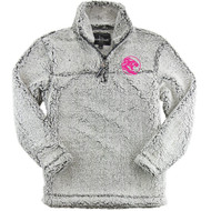 UCC Youth Sherpa 1/4 Zip Pullover - Frosty Grey (UCC-329-FG)