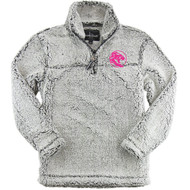 UCC Boxercraft Adult Sherpa 1/4 Zip Pullover - Frosty Grey (UCC-029-FG.BC-Q10)