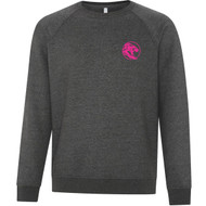 UCC ATC Adult Vintage Crewneck Sweater - Charcoal (UCC-030-CH)