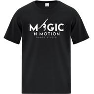 MNM ATC Youth Cotton SS T-Shirt - Black (MNM-303-BK)