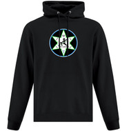 WNR ATC Evertday Men's Fleece Hooded Sweatshirt - Black (WNR-102-BK)