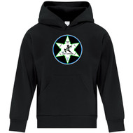 WNR ATC Everyday Youth Fleece Hooded Sweatshirt - Black (WNR-302-BK)