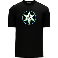 WNR Apparel Youth Classic One Color T-Shirt - Black (WNR-304-BK)