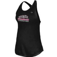 UCC Champion Girls Tank Top - Black (UCC-325-BK)