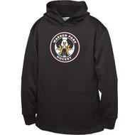 WPH ATC Youth Ptech Fleece Hooded Sweatshirt - Black (WPH-304-BK)