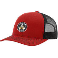 WPH Richardson Trucker Snapback - Red/Black (WPH-051-RE.TE-RC112-RDBK-OS)