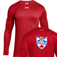 CLL Under Armour Men's Long Sleeve Locker Tee 2.0 - Red (CLL-102-RE)