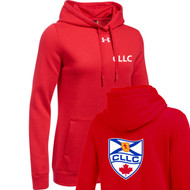 CLL Under Armour Women's Hustle Hoodie - Red (CLL-203-RE)