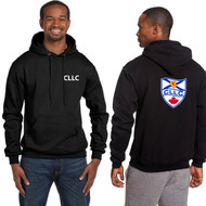 CLL Champion Adult Double Dry Eco Pullover Hood - Black (CLL-006-BLA)