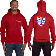 CLL Champion Adult Double Dry Eco Pullover Hood - Red (CLL-006-RED)