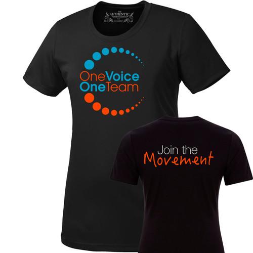 OVO ATC Pro Team Short Sleeve Ladies' Tee - Black (OVO-201-BK)