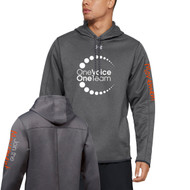 OVO UA Fleece Double Threat Men's Hoodie - Carbon Heather (OVO-103-CB)