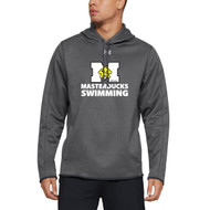 ADS Under Armour Double Threat Men's Hoodie - Carbon Heather (ADS-101-CB)