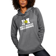 ADS Under Armour Double Threat Armour Fleece Women's Hoodie - Carbon Heather (ADS-201-CB)