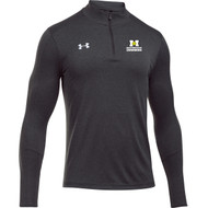 ADS Under Armour Men's Locker ¼ Zip Long Sleeve T-Shirt - Carbon Heather (ADS-102-CB)