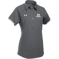 ADS Under Armour Women's Rival Polo - Graphite (ADS-203-GP)