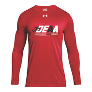 DEAA Under Armour Men's Long Sleeves Locker T-Shirt - Red