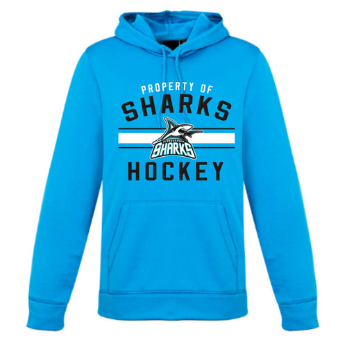 Scarborough Sharks Biz Collection Ladies Hype Pull on Hoody - Cyan (SSH-205-CY)