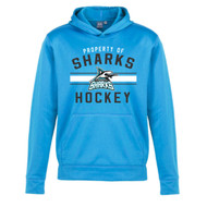 Scarborough Sharks Biz Collection Youth Hype Pull on Hoody - Cyan (SSH-305-CY)